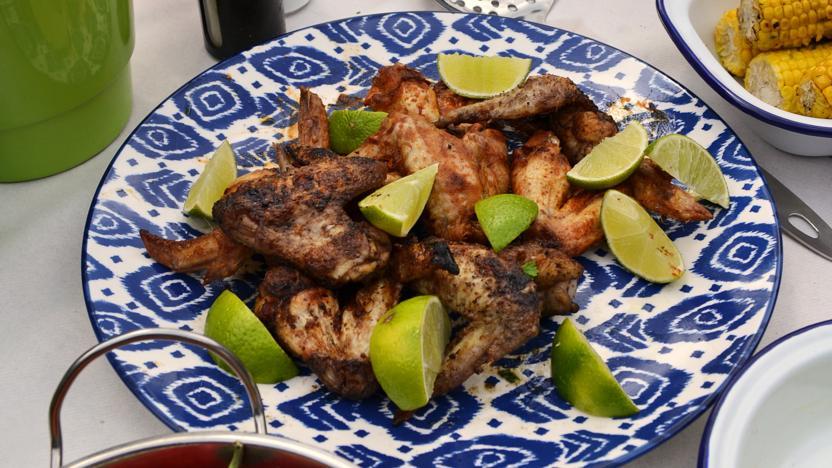 Homestyle jerk chicken wings