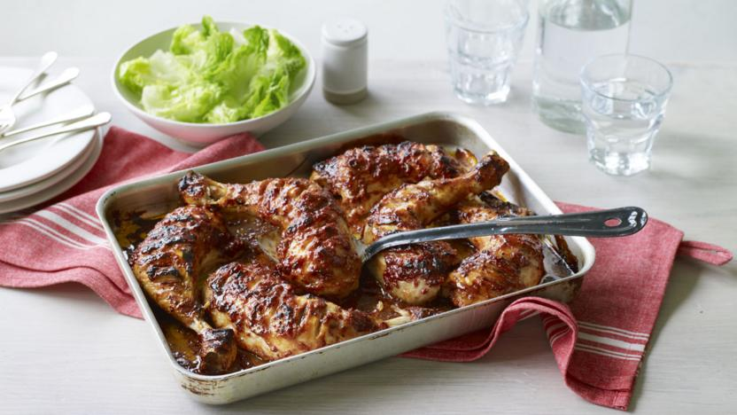 Sticky Chicken Recipe Bbc Food