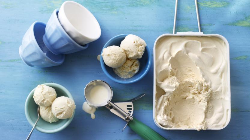 No-churn Irish cream ice cream