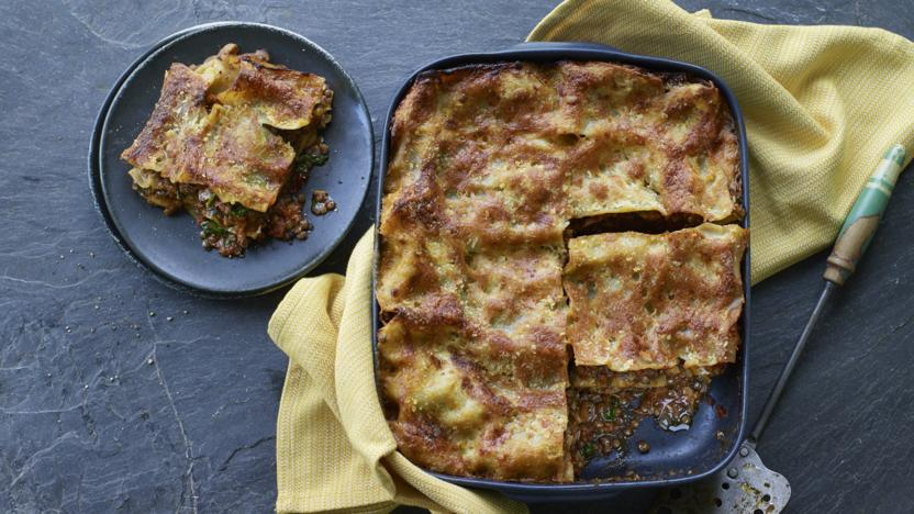 Jack Monroe's veggie lasagne