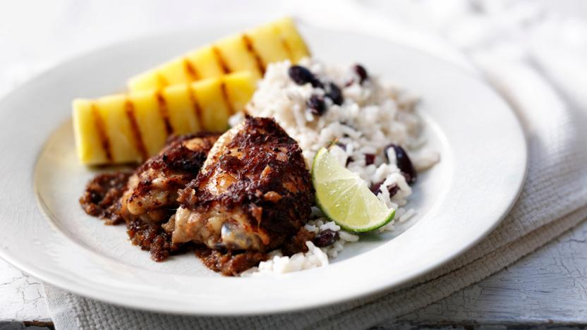 Jerk Chicken Recipe Bbc Food