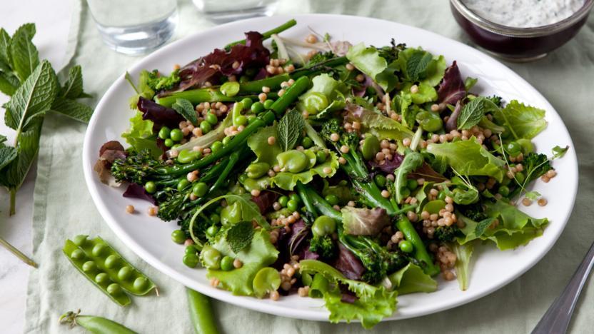 Jumbo couscous salad