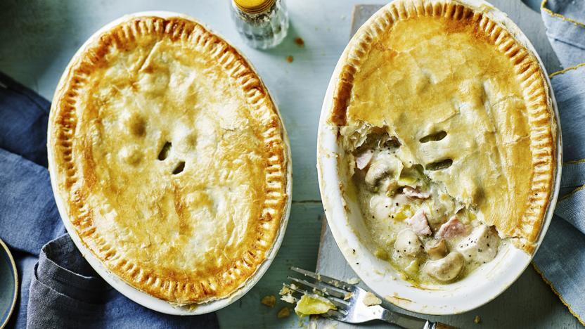 Healthy chicken pie