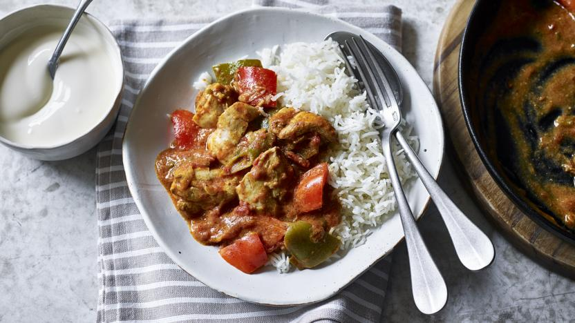 Low-FODMAP chicken curry