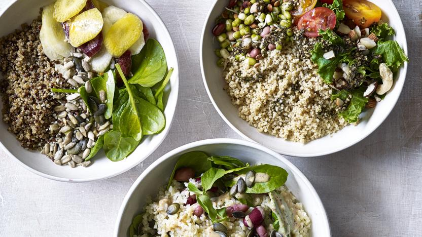 Make-ahead grain bowls