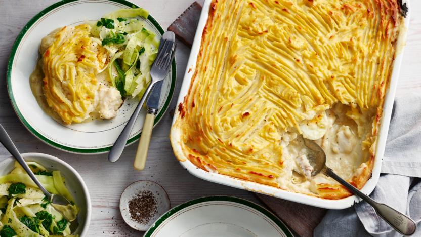 Mary Berry's fish pie