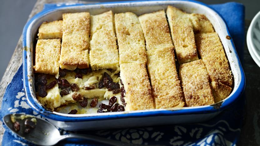 Mary Berry's bread and butter pudding