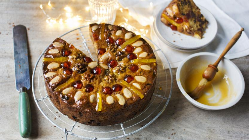 Christmas Genoa Cake Recipe Bbc Food