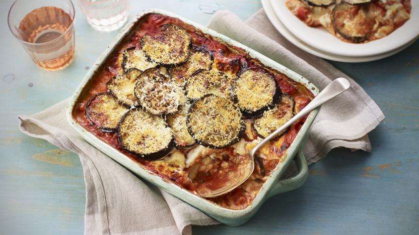 Mary Berry's melanzane pasta bake