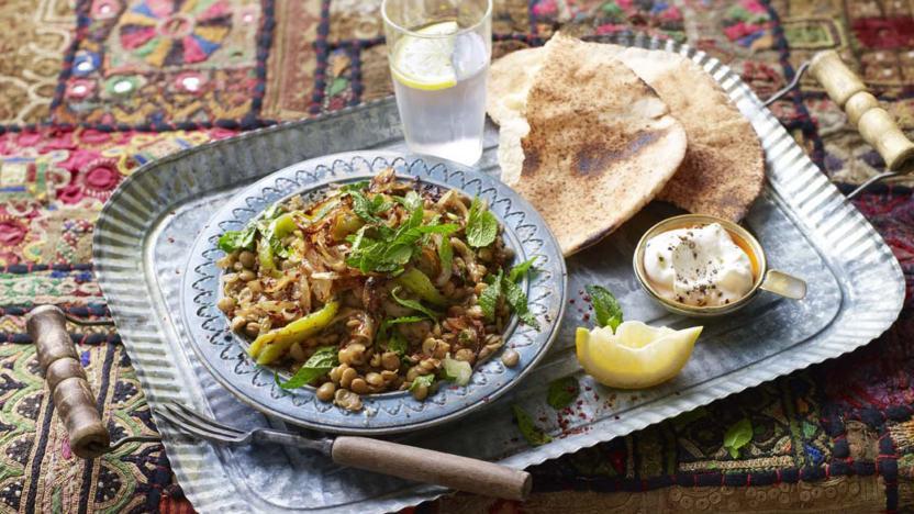 Middle Eastern lentils