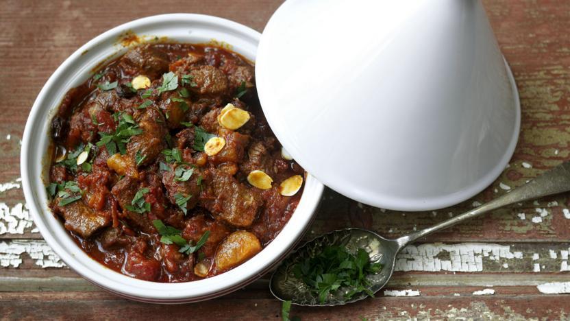 Moroccan lamb tagine recipe bbc food moroccan lamb tagine forumfinder Choice Image