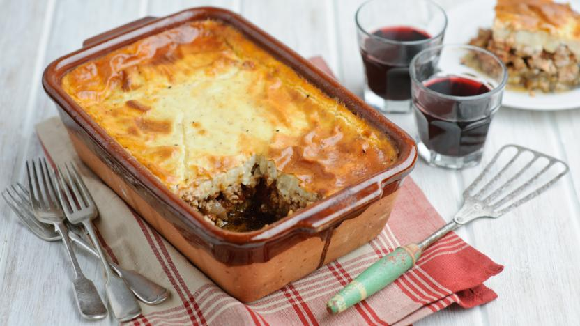 Greek-style moussaka