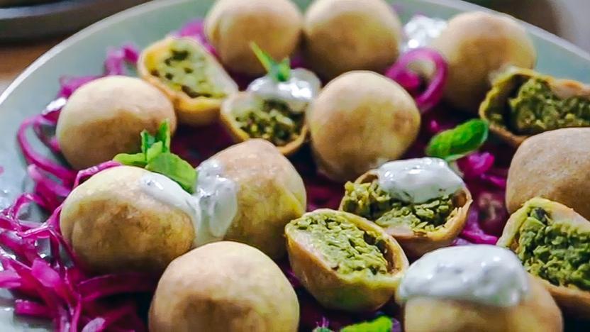 pea kachori recipe bbc food