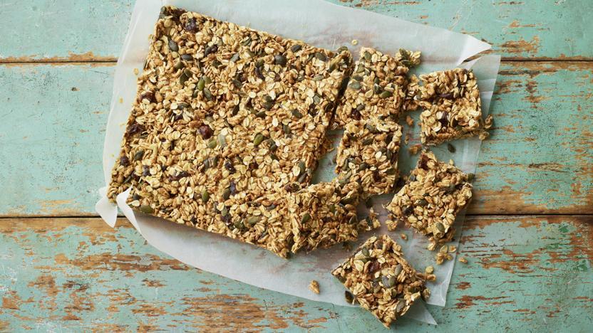 No Bake Fruity Oat Bars Recipe Bbc Food
