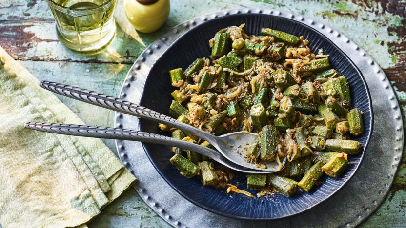 Okra Curry Recipe Bbc Food