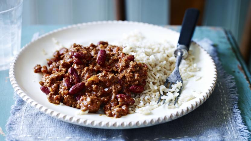 One Pot Chilli Con Carne Recipe Bbc Food