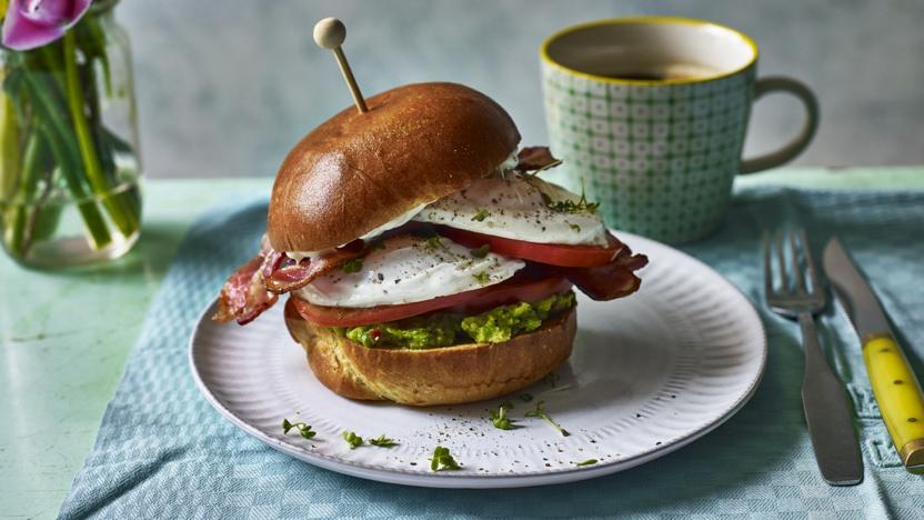 Outstanding fried egg sandwich