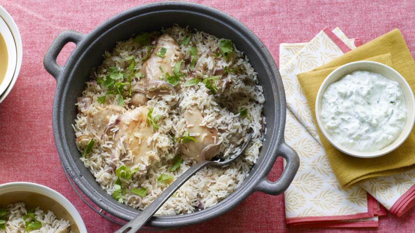 Pakistani Chicken Pulao Recipe Bbc Food
