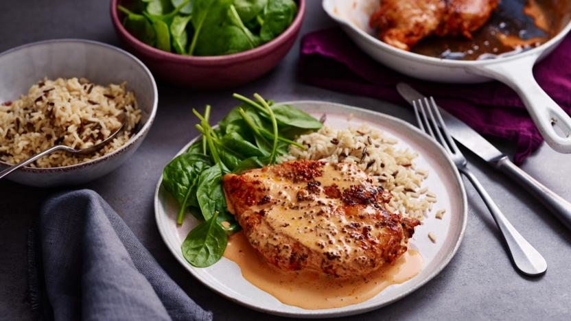 Creamy Paprika Chicken Recipe Bbc Food