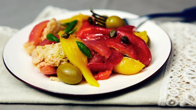 Perfect panzanella