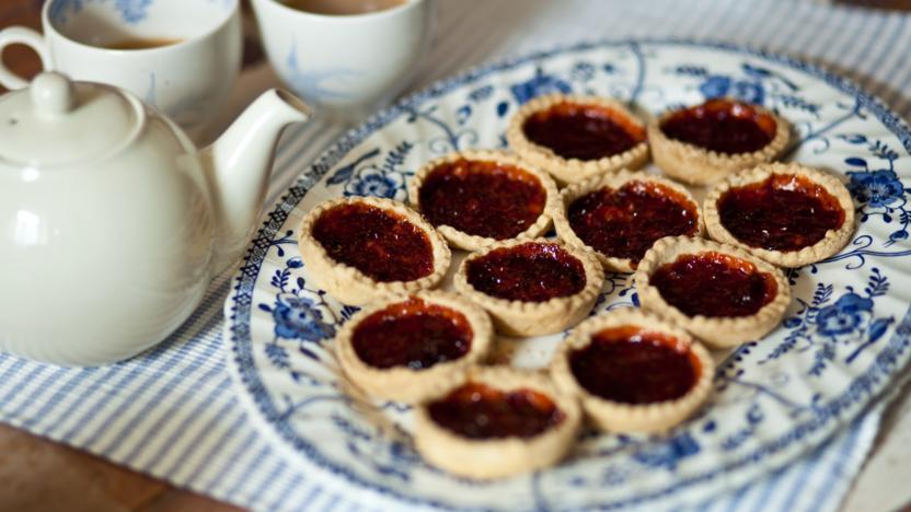 Paul's mum's jam tarts
