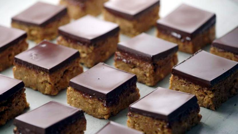 Peanut butter squares recipe bbc food peanut butter squares forumfinder Image collections