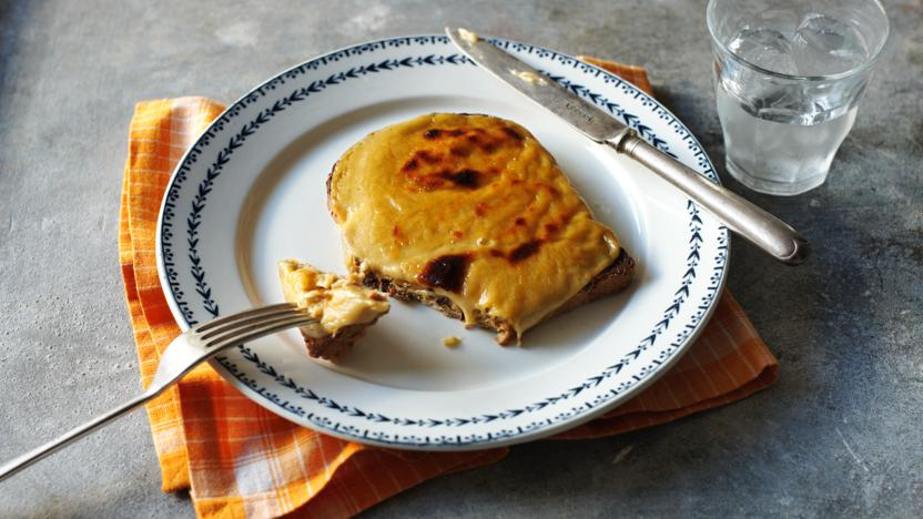 Perfect Welsh rarebit