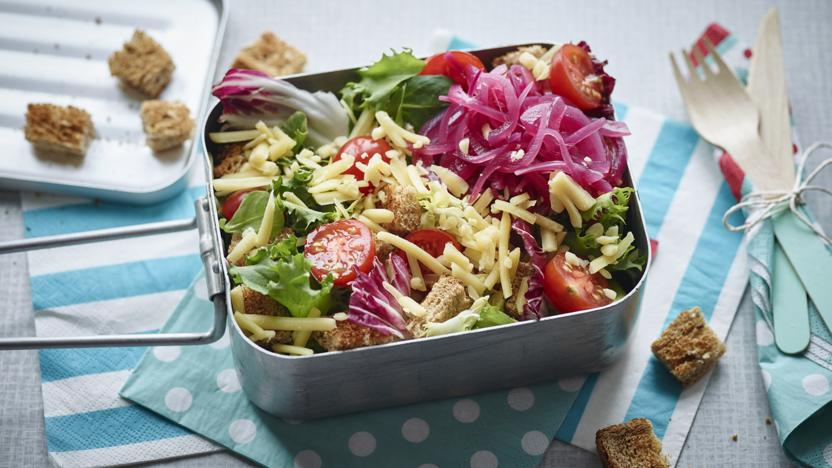 Ploughmans lunch salad recipe bbc food ploughmans lunch salad forumfinder Choice Image