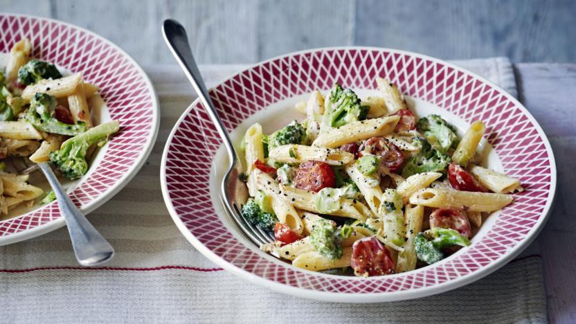 Quick broccoli pasta recipe bbc food quick broccoli pasta forumfinder Image collections