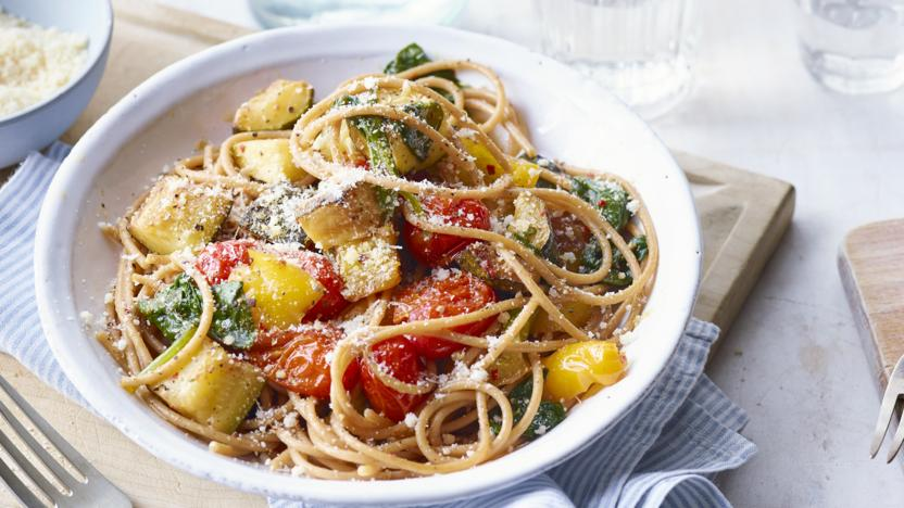 Quick vegetable pasta