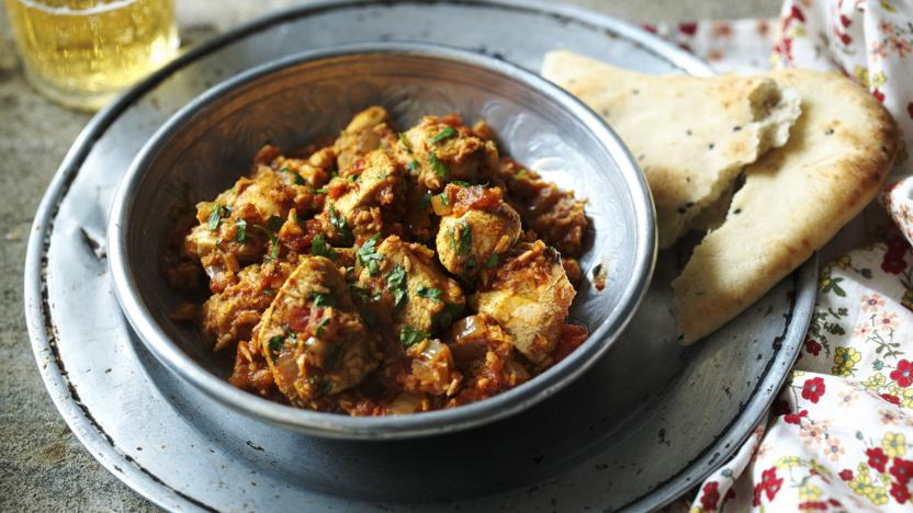 Quick chicken Madras
