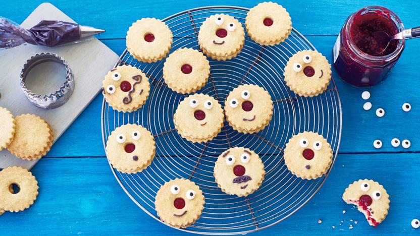 Red Nose Day shortbread