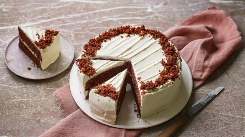 Red velvet cake recipe - BBC Food