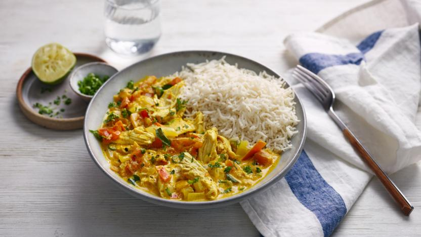 Leftover chicken curry