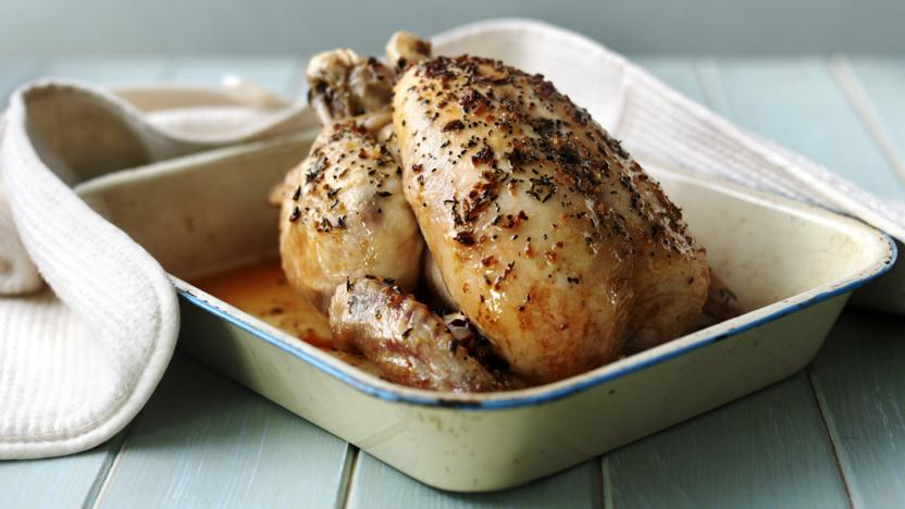 How To Roast Chicken Recipe Bbc Food