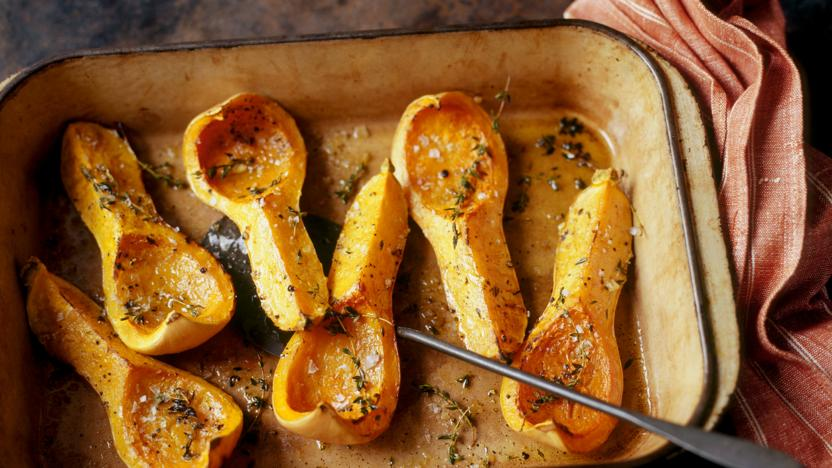 Roasted Butternut Squash Recipe Bbc Food