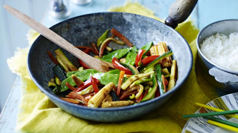 Easy Vegetable Stir Fry Recipe Bbc Food