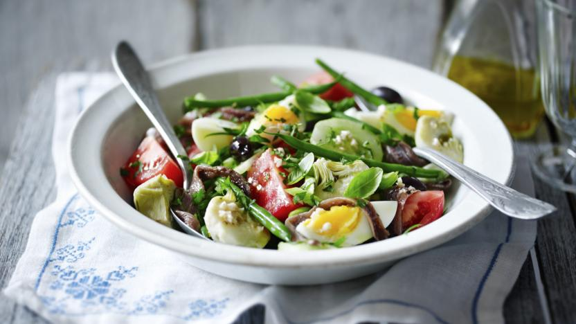 Anchovy salade Niçoise