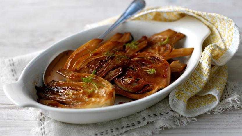 sautéed caramelised fennel recipe bbc food