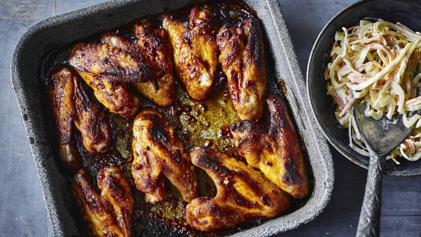 Smoked Texan chicken wings recipe