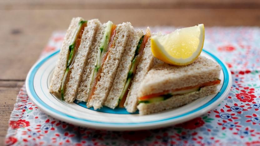 Smoked Salmon And Dill Sandwich Recipe Bbc Food