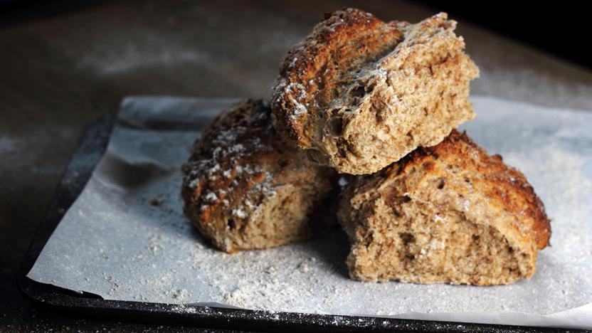 Paul Hollywoods Soda Bread Recipe Bbc Food