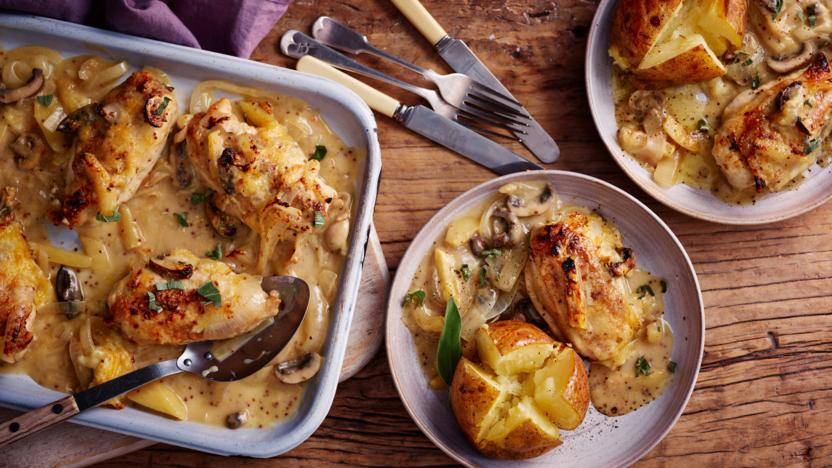Somerset Chicken Recipe Bbc Food