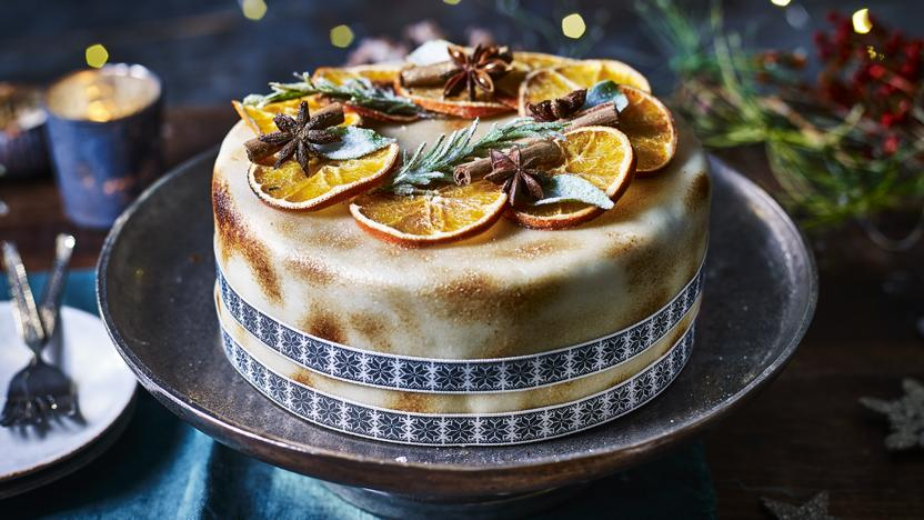 Light Christmas Cake Recipe Bbc