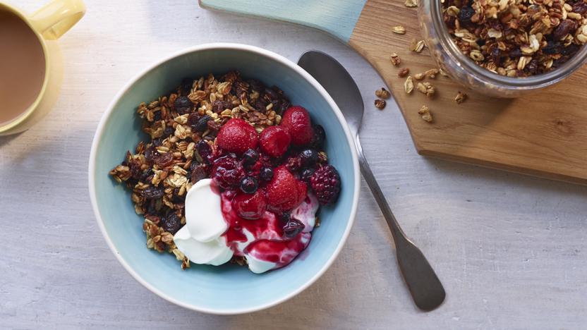 Healthy Granola Recipe Bbc Food