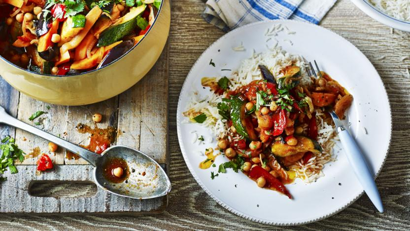 Spiced vegetable tagine recipe bbc food spiced vegetable tagine forumfinder Choice Image