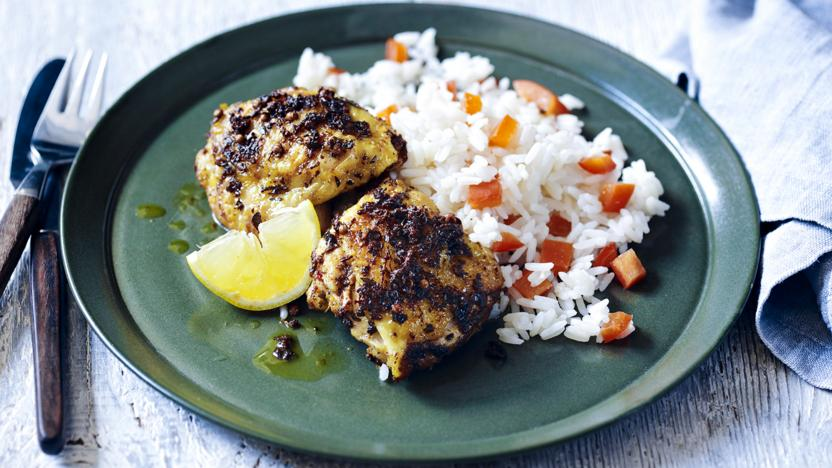 Jerk Chicken Thighs Recipe Bbc Food