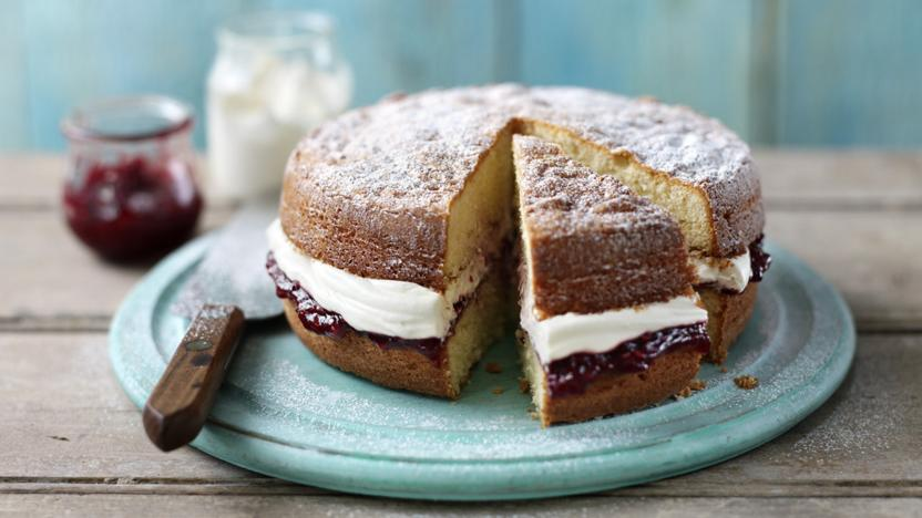 Plain Sponge Cake Recipe Bbc