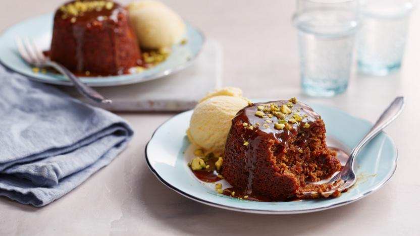Sticky ginger puddings recipe