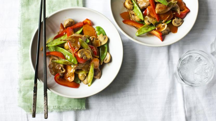 Stir-fried pork with ginger and soy sauce recipe